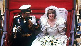 Dianas schrecklichster Tag im Leben: Diese blaublütigen Hochzeiten zogen Milliarden Menschen in Bann