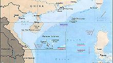 Im Südchinesischen Meer: China schickt Kampfjets auf strittige Inseln