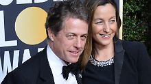 Anna Eberstein und Hugh Grant sind bereits seit sechs Jahren ein Paar. Sie haben drei Kinder zusammen.
