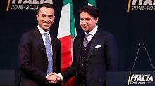 Präsident muss noch zustimmen: Conte wird wohl Regierungschef in Italien