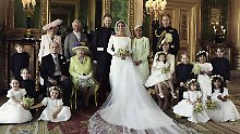 Flitterwochen müssen warten: Palast veröffentlicht Hochzeitsfoto