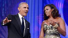 Ex-Präsidentenpaar mit neuem Job: Obamas steigen bei Netflix ein