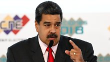 Unerwünschte Person in Venezuela: Maduro wirft US-Topdiplomaten raus