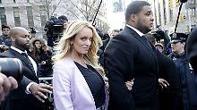 Stormy Daniels sorgt seit Monaten durch ihre Auseinandersetzung mit Trump und dessen früherem Anwalt Michael Cohen für Schlagzeilen.