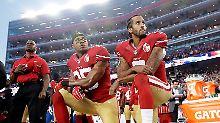 Entscheidung im Hymnenstreit: NFL verbietet Spielern knienden Protest