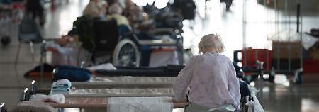 Blindgänger hält Dresden in Atem: Senioren trifft Evakuierung besonders hart