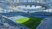 Explodierte Kosten, wenig Nutzen: Stadien der Fußball-WM sind Problemfälle