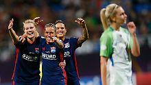 Abnutzungskampf in Kiew: Lyon verhindert Triple der Wolfsburgerinnen