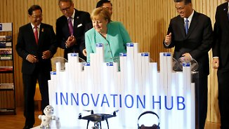 Innovationshochburg Shenzhen: Merkel beendet China-Reise mit Besuch in High-Tech-Metropole