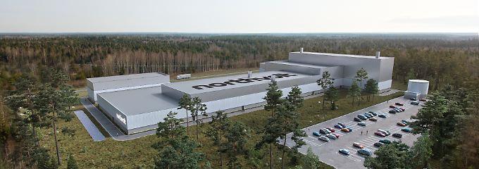 """Battieriewerk von Northvolt: Siemens steigt in Europas """"Gigafactory"""" ein"""