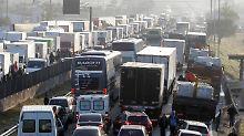 Protest-Blockade in Brasilien: Militär zieht gegen Lkw-Fahrer ins Feld