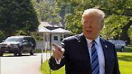 Rückzug vom Rückzug: Trump relativiert Gipfelabsage an Kim
