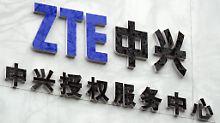 Gegen Auflagen und Strafzahlung: Chinas ZTE darf wieder an den US-Markt