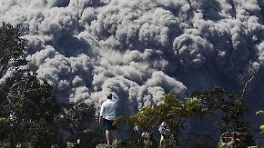 Zerstörerischer Vulkan speit unvermindert: Gewaltige Aschewolke hängt über Hawaii