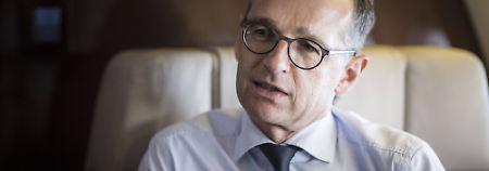 SPD will Sanktionen prüfen: Maas gerät wegen Russland-Kurs unter Druck