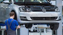 Fehler in Motorsoftware: VW-Chef verhängt Fertigungsstop für Diesel