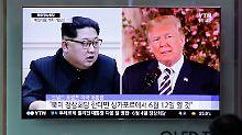 """""""Daran hat sich nichts geändert"""": Trump will Kim nun doch treffen"""