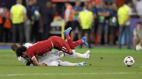 "Klopp über Salahs Verletzung: ""Ramos' Foul war wie Wrestling"""