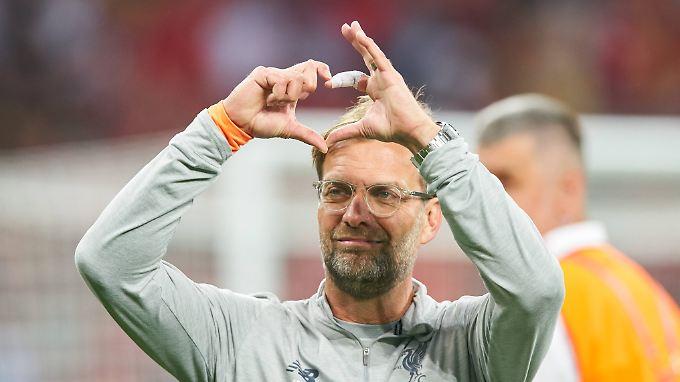 Coach - oder Manager - Jürgen Klopp: Sympathieträger und Fußball-Englisch-Experte.
