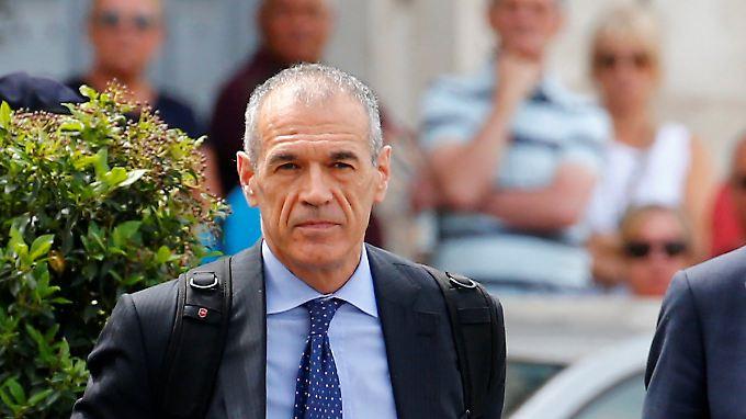 Lega und die 5-Sterne-Bewegung wollen im Parlament gegen Carlo Cottarelli stimmen - die Folge wären Neuwahlen.