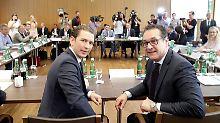 """Kurz ruft Alarmstufe Gelb aus: """"Neue Balkanroute"""" schreckt Österreich"""