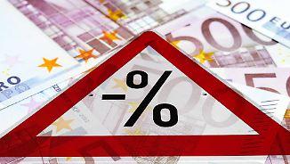Geld gegen Kundendaten: Kredite mit Minuszinsen haben gleich mehrere Haken