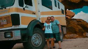 """""""Habe ihm in die Augen gedrückt"""": Wie ein Namibia-Urlauber eine Leopardenattacke überlebte"""