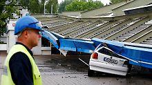 Starkregen, Gewitter und Hagel: Unwetter richtet große Schäden in NRW an