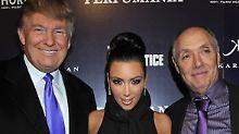In politischer Mission: Donald Trump empfängt Kim Kardashian
