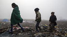 Zwei Kinder verletzt: Kroatische Polizei schießt auf Flüchtlinge
