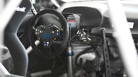 Das spartanische Cockpit des i30 N TCR ist typisch für solche Fahrzeuge.
