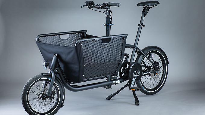 Das Lastenrad Muli kann man jetzt auch mit Pendix-Pedelec-Antrieb kombinieren.