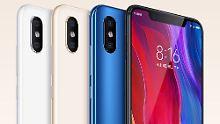 Mi 8 mit Face ID und mehr: Xiaomi zeigt schamlos guten iPhone-X-Klon