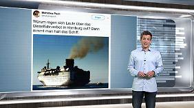 n-tv Netzreporter: Hamburger #Fahrverbote stoßen auf Spott und Häme