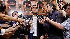 """""""Niemand hat vor, aus dem Euro auszutreten"""", sagte Italiens Vize-Regierungschef Luigi Di Maio sinngemäß."""