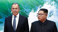 """""""Willen zur Denuklearisierung"""": Kim sendet freundliche Signale"""