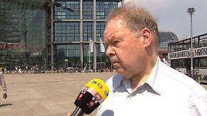 """Karl-Peter Naumann zur Bahn-Offensive: """"Wichtig, dass reichlich in die Schiene investiert wird"""""""