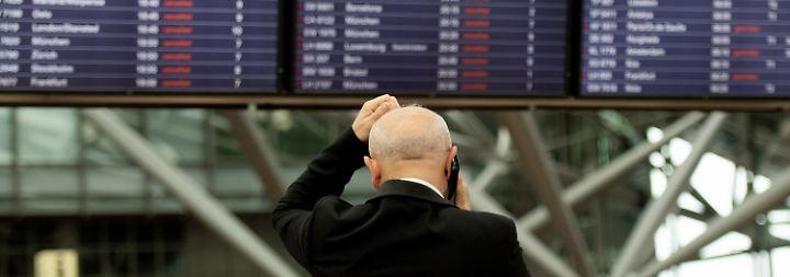 Noch ist die Ursache des Kurzschlusses am Hamburger Airport nicht gefunden.