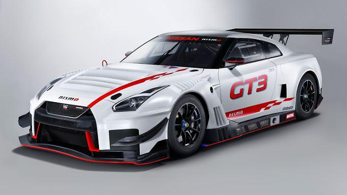 Der neue Nissan GT-R Nismo GT3