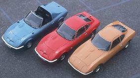 Dreimal flotte Flunder: Aero GT 1969, GT 19000 ab 1968 und Experimental GT von 1965 (v.l.).