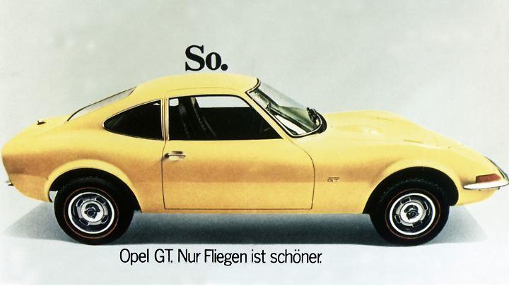 Opel ließ sich jede Menge griffiger Werbeslogans einfallen.