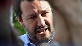 Matteo Salvini bildet mit der Fünf-Sterne-Bewegung eine Koalition der rechten und linken Europagegner.