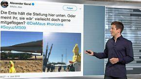 n-tv Netzreporter: Eine Million Fans heben mit @Astro_Alex ab