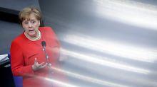 Fragestunde im Bundestag: Merkel hat nur 60 Sekunden