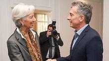 Kredit mit Auflagen: IWF gewährt Argentinien 50 Milliarden Dollar