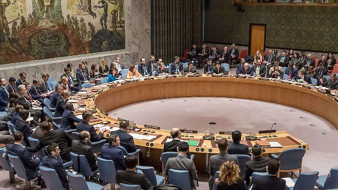 Der Sicherheitsrat ist ein wichtiges Organ der Vereinten Nationen. Die erste Sitzung fand im Januar 1946 statt.