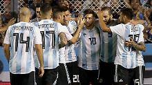 Wahnsinnige Erleichterung: Argentinien ist bei der WM dabei.