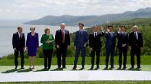 Keine Fortschritte mit Russland: Merkel und EU sprechen sich gegen G8 aus