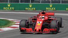 Hamilton nur auf Rang vier: Vettel schnappt sich Pole bei GP von Kanada