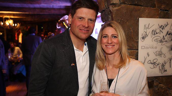 13 Jahre lang ein Paar - Jan Ulrich und Sara Steinhauser.